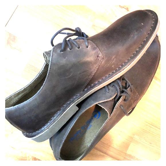 competitive price 2ac04 f2aa1 Nunn Bush Gordy Plain Toe Oxford Leather Shoes. M 5b85f7dec2e88e3ad054a177